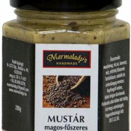 Mustár magos-fűszeres 200g